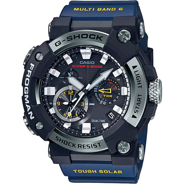 Relógio Casio G-Shock Frogman GWF-A1000-1A2DR Solar e Bluetooth  - TREINIT