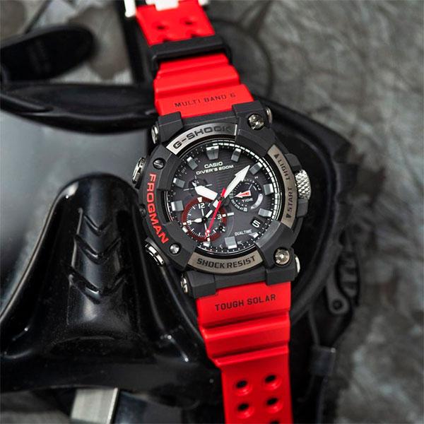 Relógio Casio G-Shock Frogman GWF-A1000-1A4DR Solar e Bluetooth  - TREINIT