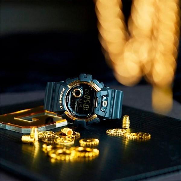 Relógio Casio G-Shock G-8900GB-1DR Resistente a choques  - TREINIT