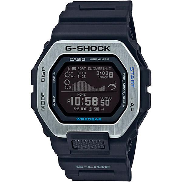 Relógio Casio G-Shock G-Lide (Maré/Bluetooth) GBX-100-1DR  - TREINIT