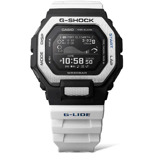 Relógio Casio G-Shock G-Lide (Maré/Bluetooth) GBX-100-7DR  - TREINIT