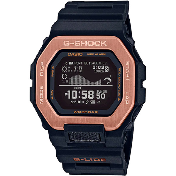 Relógio Casio G-Shock G-Lide (Maré/Bluetooth) GBX-100NS-4DR  - TREINIT