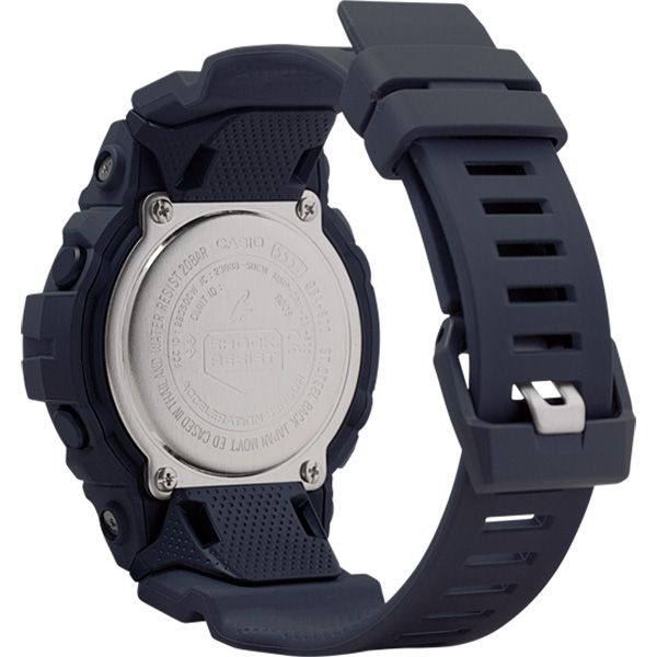 Relógio Casio G-Shock G-Squad GBA-800-1ADR Monitor de Passos Calorias Bluetooth  - TREINIT