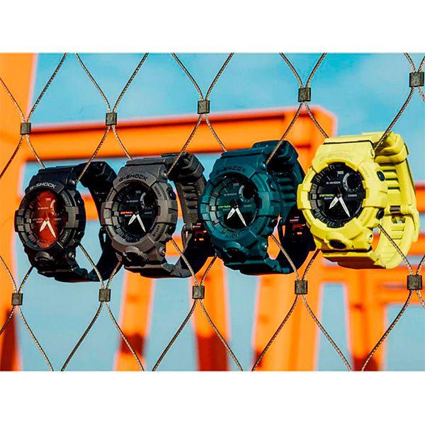 Relógio Casio G-Shock G-Squad GBA-800-7ADR Monitor de Passos Calorias Bluetooth  - TREINIT