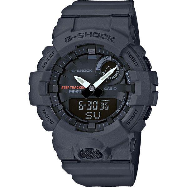 Relógio Casio G-Shock G-Squad GBA-800-8ADR Monitor de Passos Calorias Bluetooth  - TREINIT