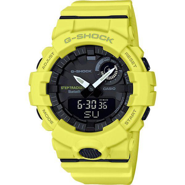 Relógio Casio G-Shock G-Squad GBA-800-9ADR Monitor de Passos Calorias Bluetooth  - TREINIT