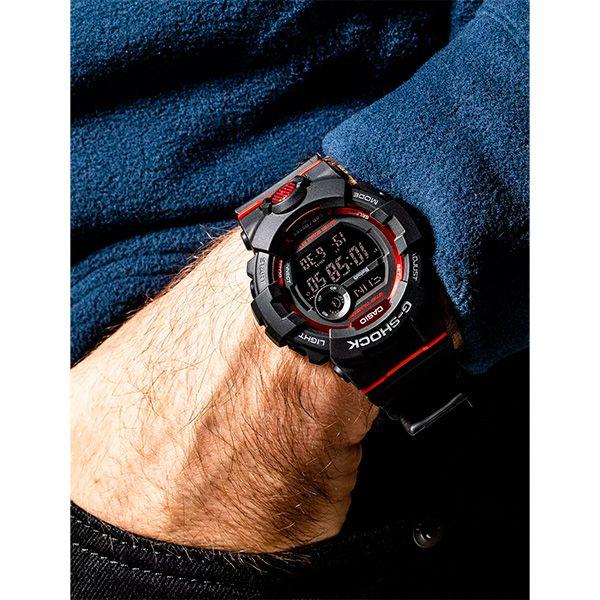 Relógio Casio G-Shock G-Squad GBD-800-1DR Monitor de Passos Bluetooth  - TREINIT