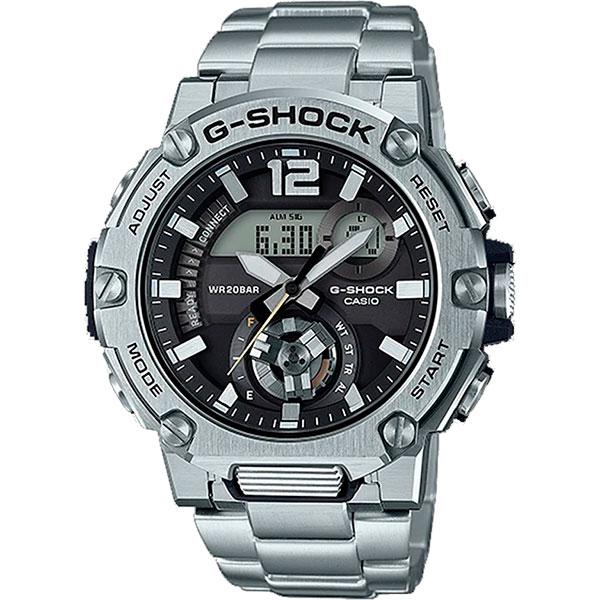 Relógio Casio G-Shock G-Steel GST-B300SD-1ADR Carbon Core Guard  - TREINIT