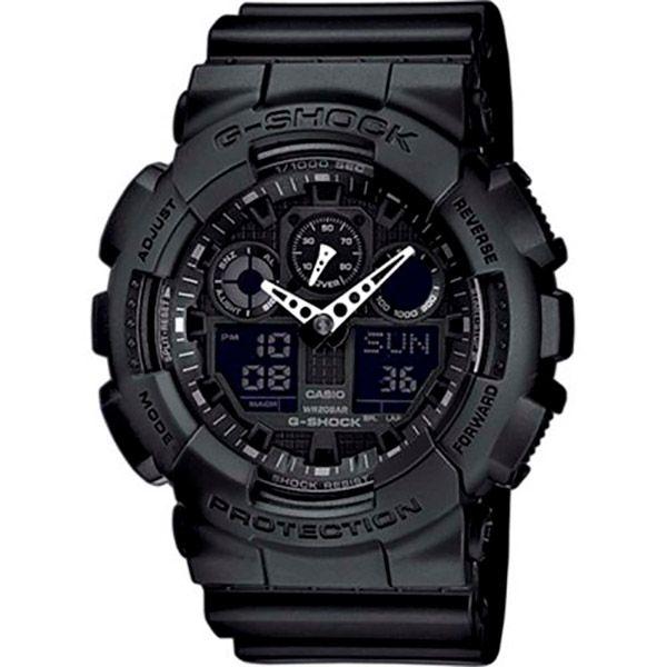 Relógio Casio G-Shock GA-100-1A1DR Resistente a choques  - Loja Prime