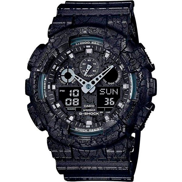 Relógio Casio G-Shock GA-100CG-1A Resistente a choques  - Treinit