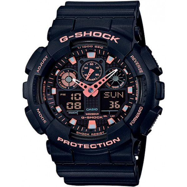 Relógio Casio G-Shock GA-100GBX-1A4DR Resistente a choques  - Loja Prime