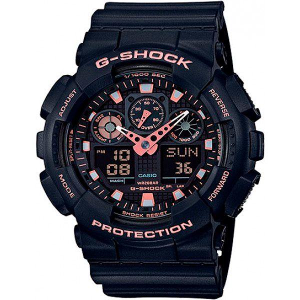 Relógio Casio G-Shock GA-100GBX-1A4DR Resistente a choques  - TREINIT