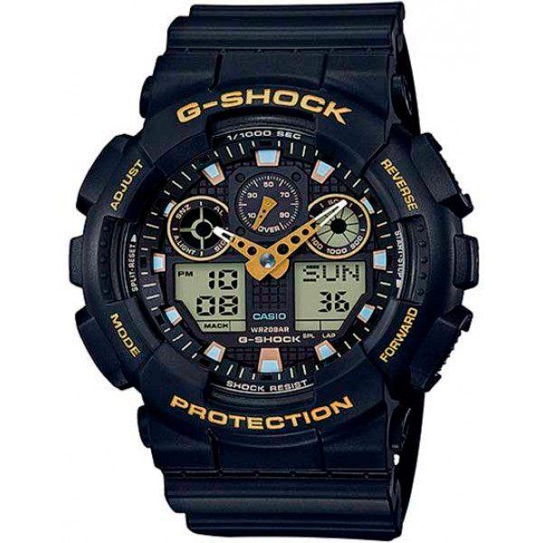 Relógio Casio G-Shock GA-100GBX-1A9DR Resistente a choques  - TREINIT
