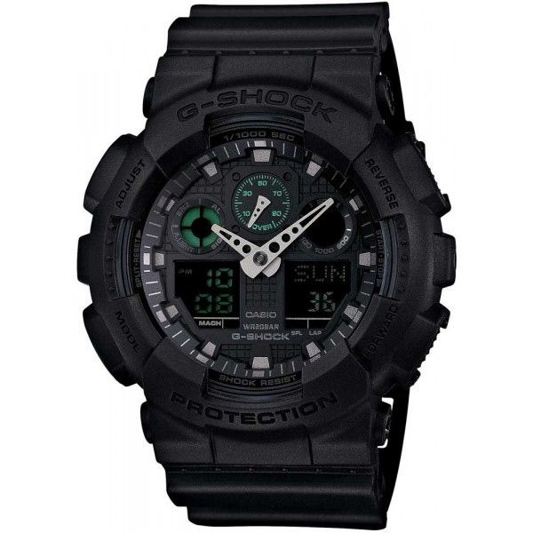 Relógio Casio G-Shock GA-100MB-1ADR Resistente a choques  - Loja Prime