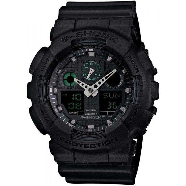Relógio Casio G-Shock GA-100MB-1ADR Resistente a choques  - TREINIT