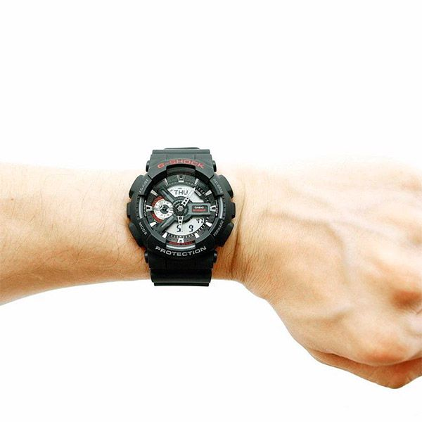 Relógio Casio G-Shock GA-110-1ADR Resistente a choques  - TREINIT