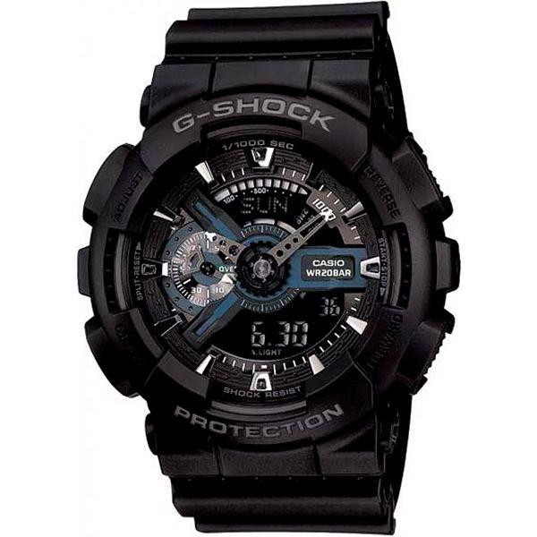 Relógio Casio G-Shock GA-110-1BDR Resistente a choques  - TREINIT
