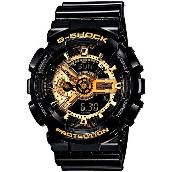 Relógio Casio G-Shock GA-110GB-1ADR Resistente a choques  - TREINIT