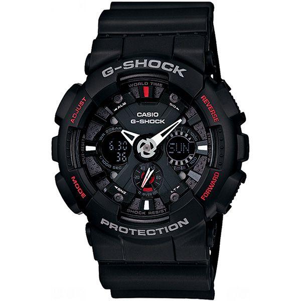 Relógio Casio G-Shock GA-120-1ADR Resistente a choques  - TREINIT