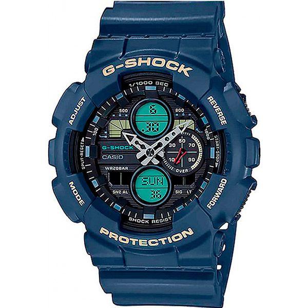 Relógio Casio G-Shock GA-140-2ADR Resistente a choques  - TREINIT