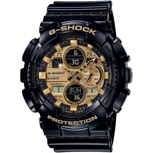 Relógio Casio G-Shock GA-140GB-1A1DR Resistente a choques  - TREINIT