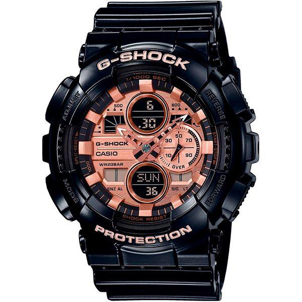 Relógio Casio G-Shock GA-140GB-1A2DR Resistente a choques  - TREINIT