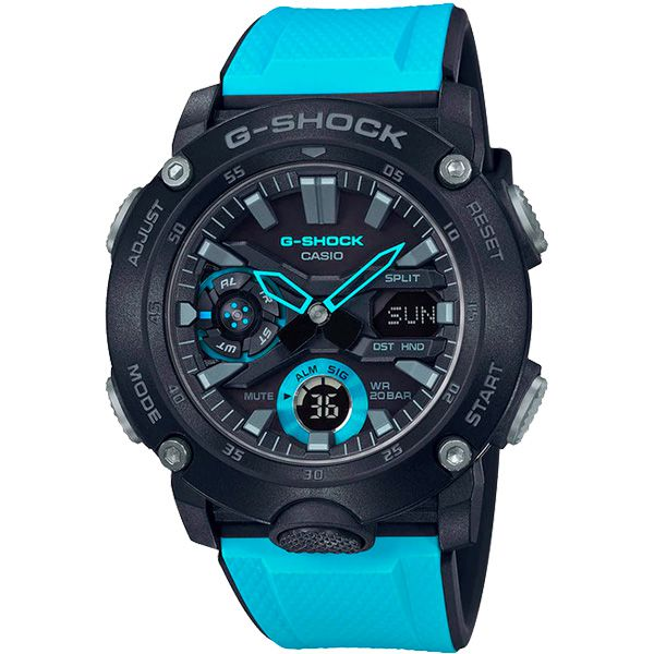 Relógio Casio G-Shock GA-2000-1A2DR Carbon Core Guard - TREINIT