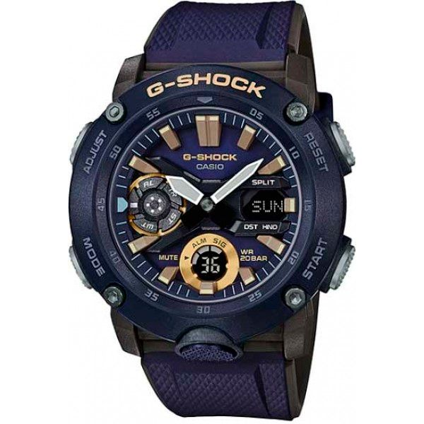 Relógio Casio G-Shock GA-2000-2ADR Carbon Core Guard  - TREINIT