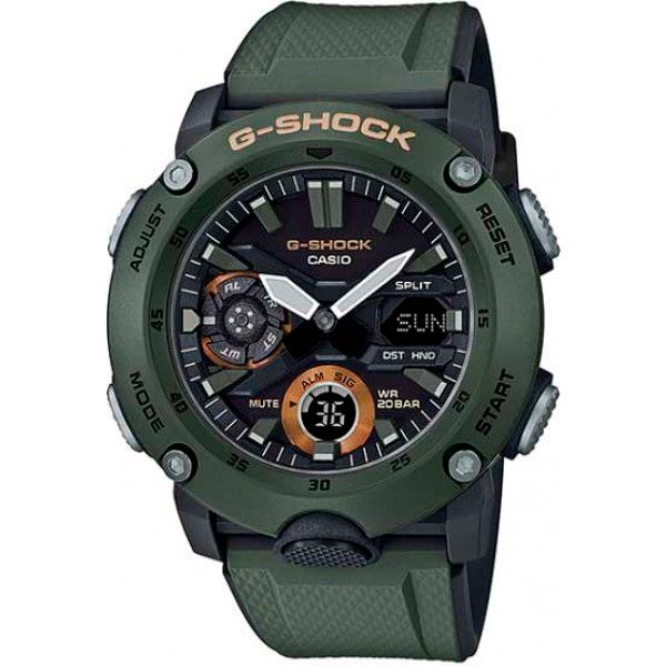 Relógio Casio G-Shock GA-2000-3ADR Carbon Core Guard  - TREINIT