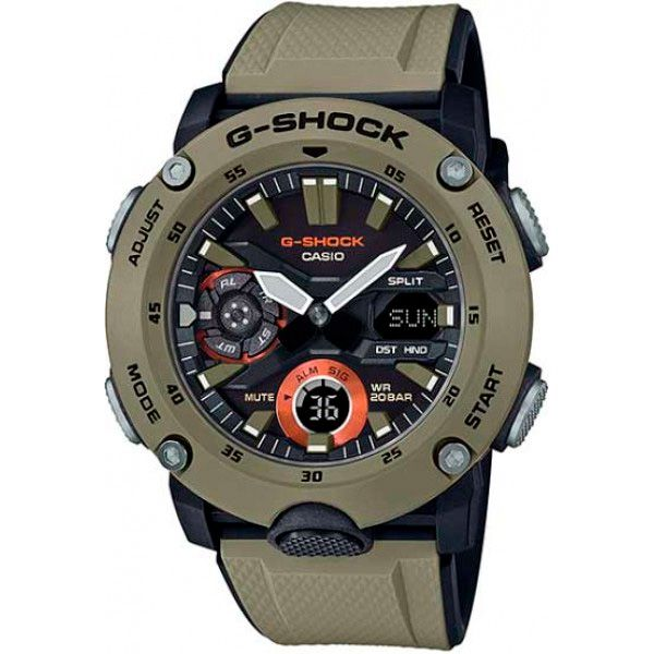 Relógio Casio G-Shock GA-2000-5ADR Carbon Core Guard  - TREINIT