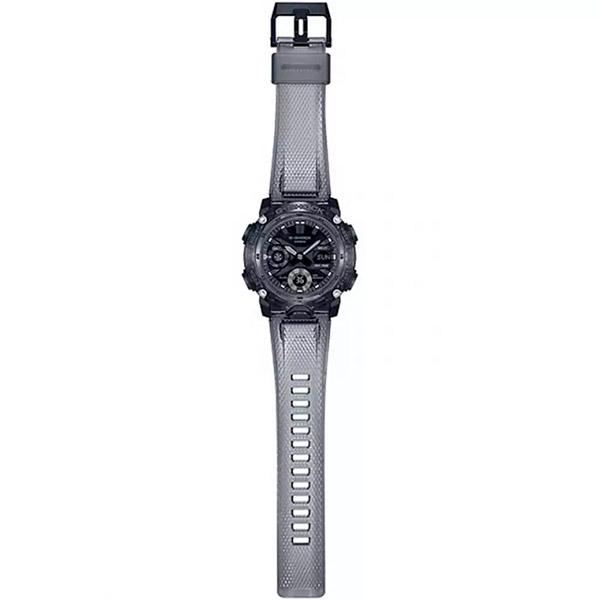 Relógio Casio G-Shock GA-2000SKE-8ADR Série Transparent Pack Carbon Core Guard  - TREINIT