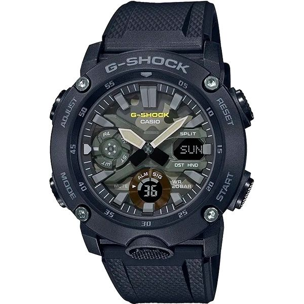 Relógio Casio G-Shock GA-2000SU-1ADR Carbon Core Guard  - TREINIT