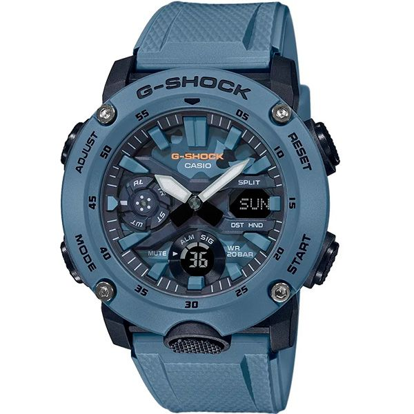 Relógio Casio G-Shock GA-2000SU-2ADR Carbon Core Guard - TREINIT