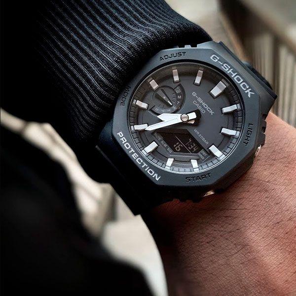 Relógio Casio G-Shock GA-2100-1ADR Carbon  - TREINIT