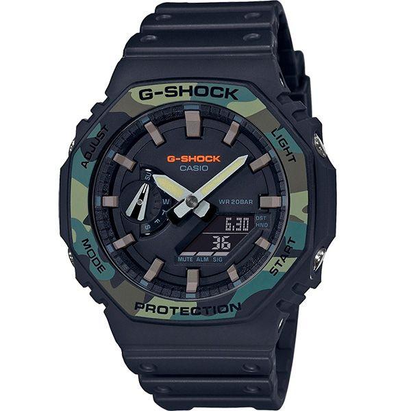 Relógio Casio G-Shock GA-2100SU-1ADR Carbon  - TREINIT