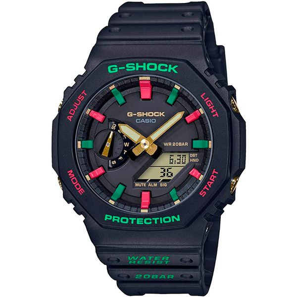 Relógio Casio G-Shock GA-2100TH-1ADR Carbon  - TREINIT