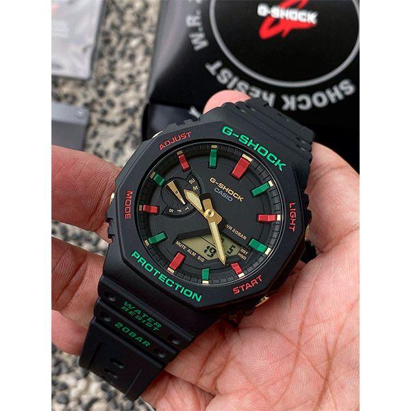 Relógio Casio G-Shock GA-2100TH-1ADR Carbon  - TREINIT
