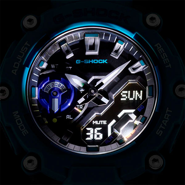 Relógio Casio G-Shock GA-2200-2ADR Carbon  - TREINIT