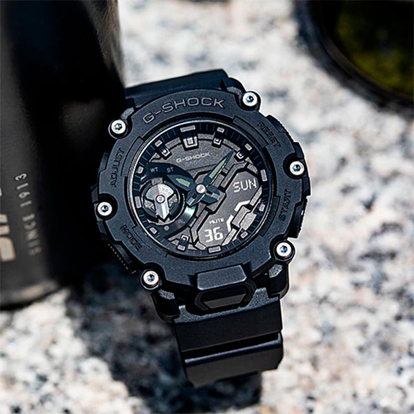 Relógio Casio G-Shock GA-2200BB-1ADR Carbon  - TREINIT