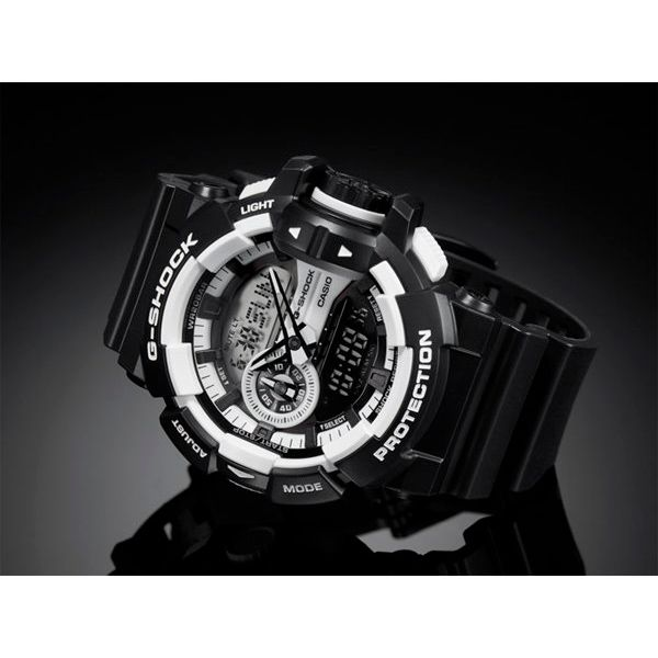 Relógio Casio G-Shock GA-400-1ADR Rotary Switch Resistente a choques  - Loja Prime