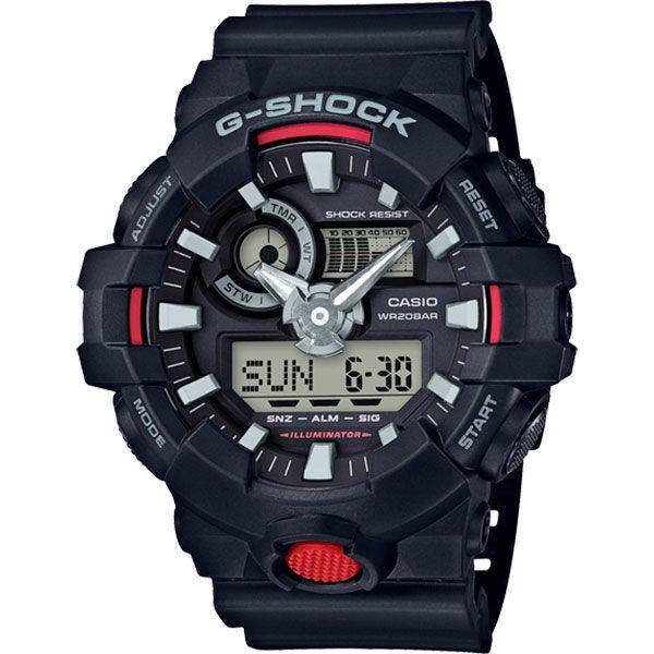Relógio Casio G-Shock GA-700-1ADR Resistente a choques  - TREINIT
