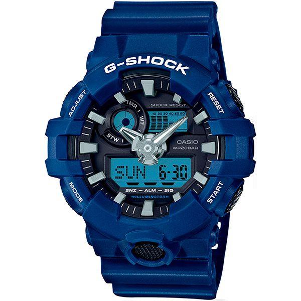 Relógio Casio G-Shock GA-700-2ADR Resistente a choques  - Treinit