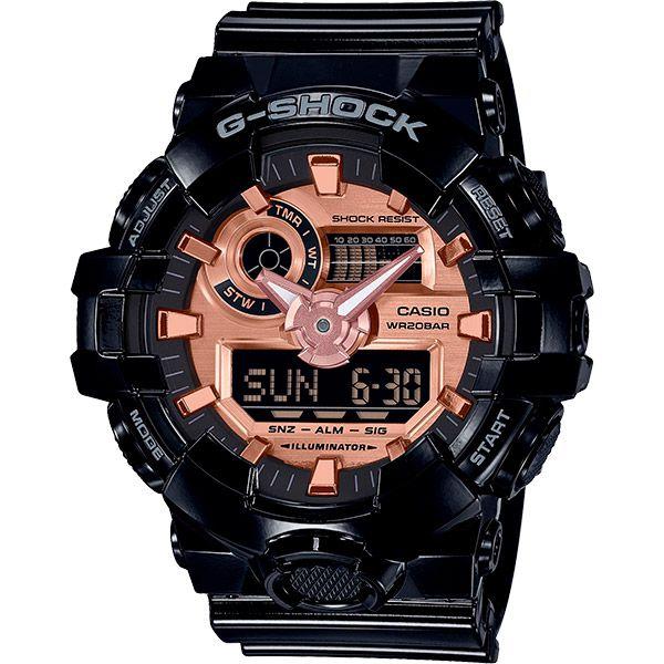 Relógio Casio G-Shock GA-700MMC-1ADR Resistente a choques  - TREINIT