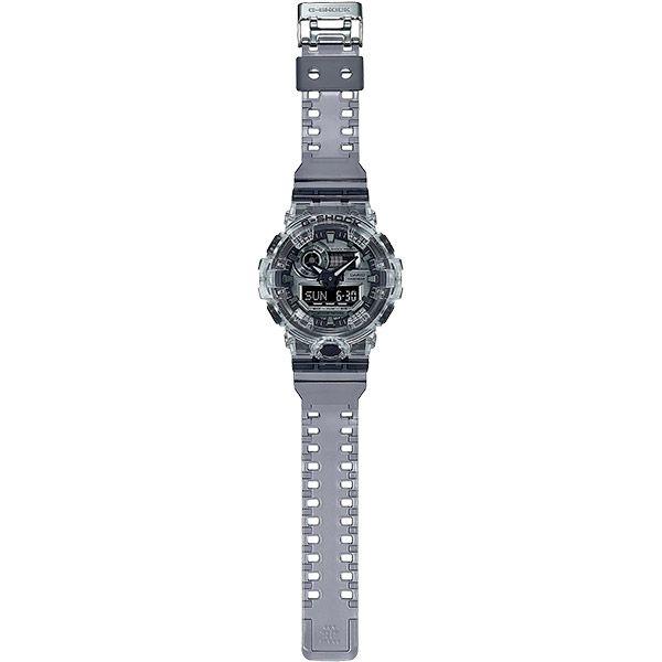 Relógio Casio G-Shock GA-700SK-1ADR Skeleton Resistente a choques  - TREINIT