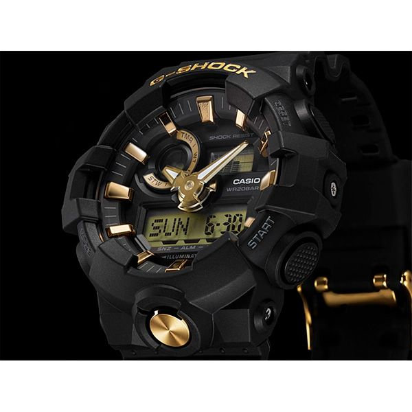 Relógio Casio G-Shock GA-710B-1A9DR Resistente a choques  - TREINIT