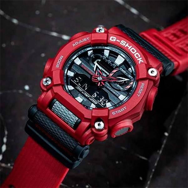 Relógio Casio G-Shock GA-900-4ADR Resistente a choques  - TREINIT