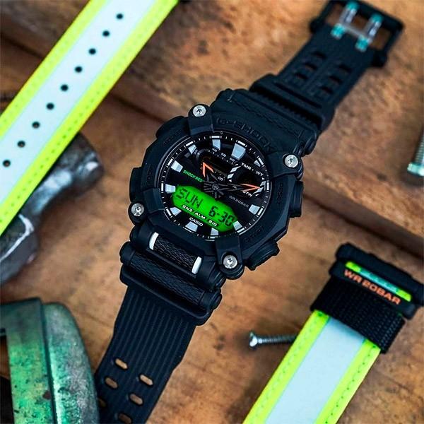 Relógio Casio G-Shock GA-900E-1A3DR Resistente a choques  - TREINIT