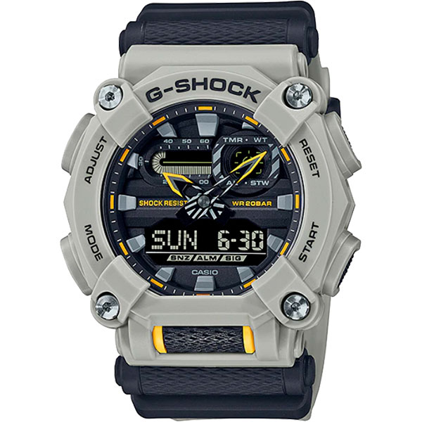 Relógio Casio G-Shock GA-900HC-5ADR Série Hidden Coast  - TREINIT