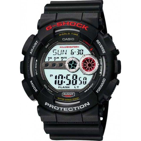 Relógio Casio G-SHOCK GD-100-1ADR Resistente a choques  - Treinit