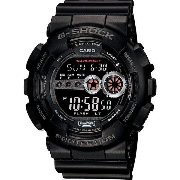 Relógio Casio G-SHOCK GD-100-1BDR Resistente a choques  - Loja Prime